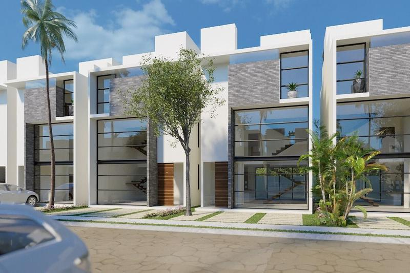 Foto Casa en Venta en  Tulum,  Tulum  Modernas casa de 3 recámaras en Bahía Príncipe P2463