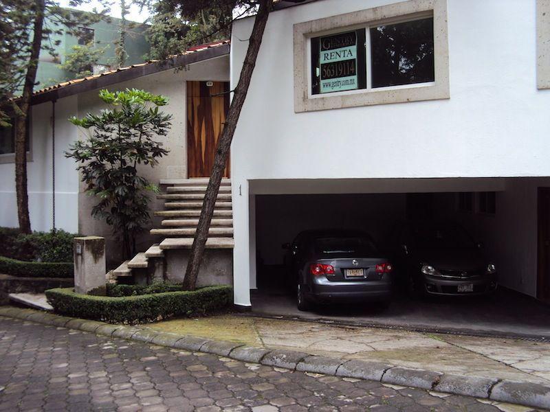 Foto Casa en condominio en Renta en  Peña Pobre,  Tlalpan  TLALPAN, FRACCIONAMIENTO EL BOSQUE