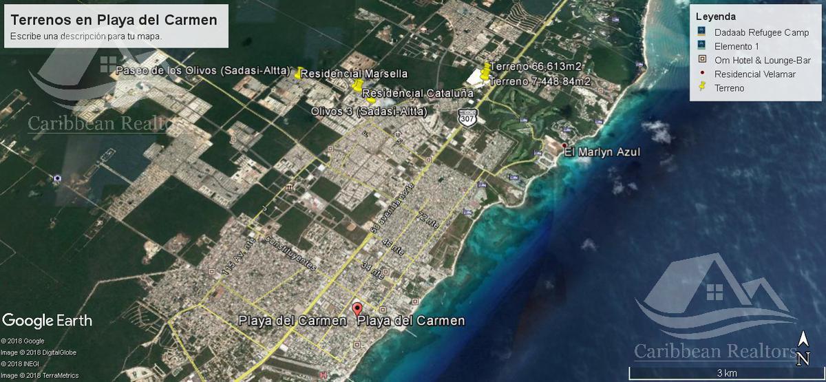 Picture Land in Sale in  Solidaridad ,  Quintana Roo  Solidaridad