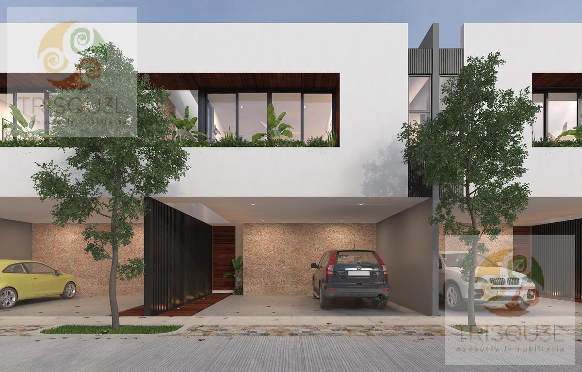 Foto Casa en condominio en Venta en  Pueblo Conkal,  Conkal          Townhouses en Venta Privada Ya´ax be (Mod Premium)Conkal , Mérida Yucatán