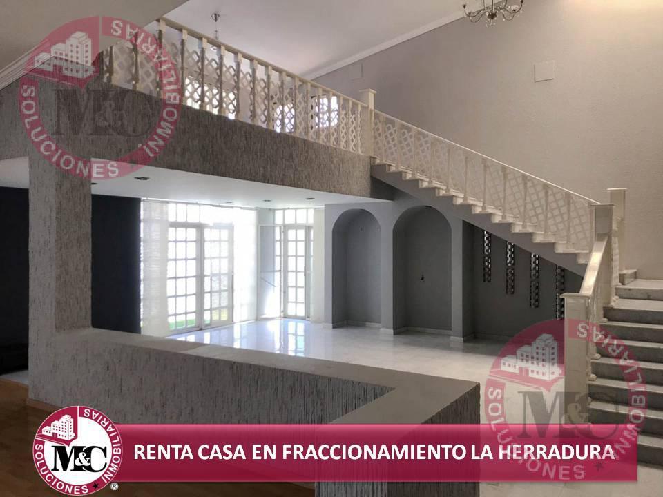 Foto Casa en Renta en  Fraccionamiento Campestre La Herradura,  Aguascalientes  MC RENTA CASA EN FRACCIONAMIENTO LA HERRADURA AL NORTE DE AGUASCALIENTES
