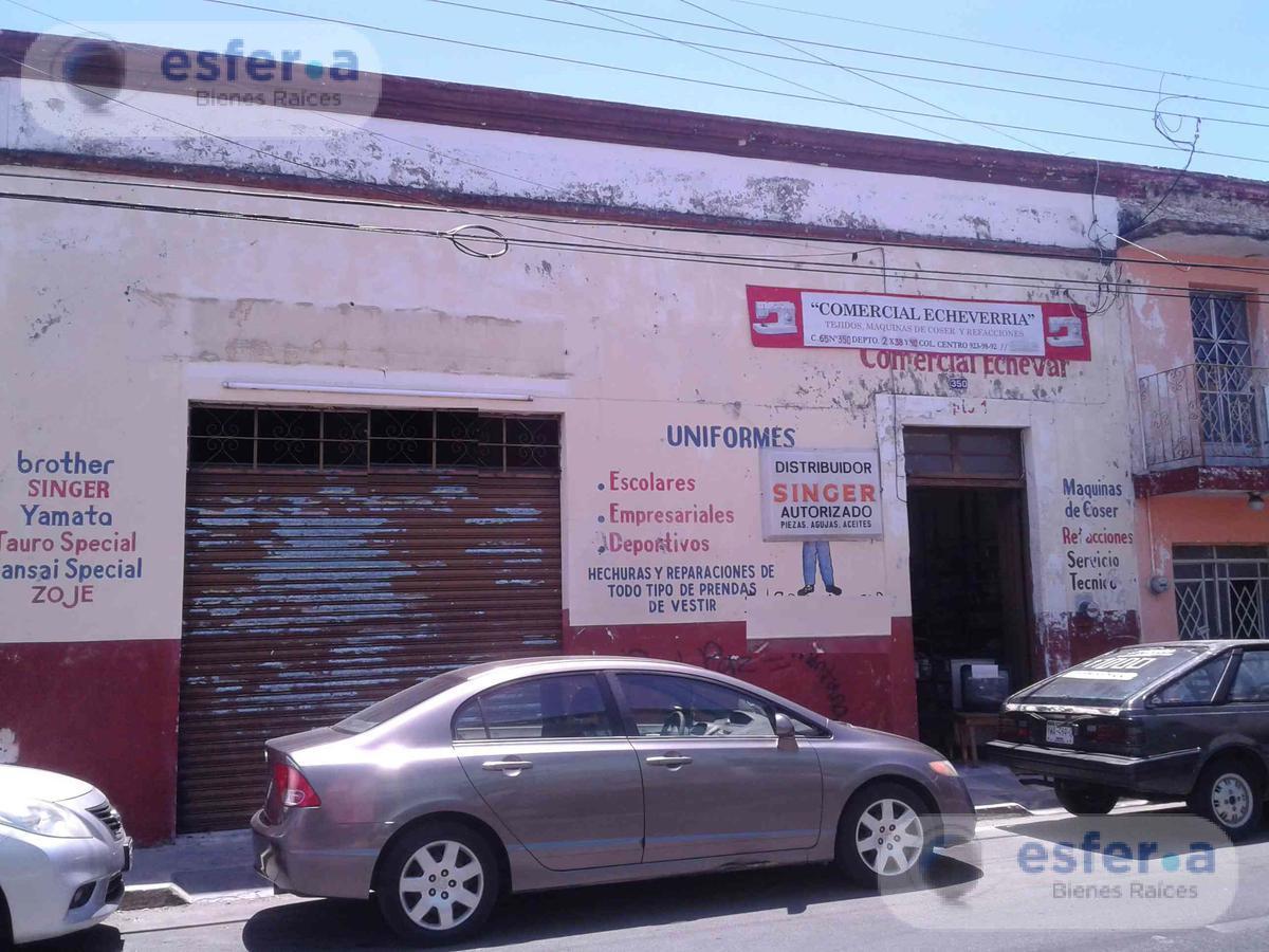 Foto Bodega Industrial en Venta en  Merida Centro,  Mérida  Bodega en venta en el Centro C65, 350m2