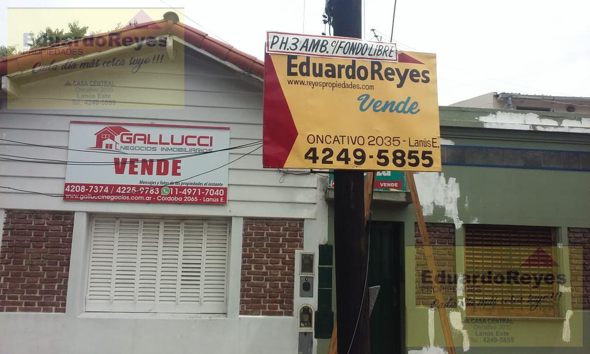 Foto PH en Venta en  Remedios De Escalada,  Lanus  ARTURO M BAS 260 Dto 3