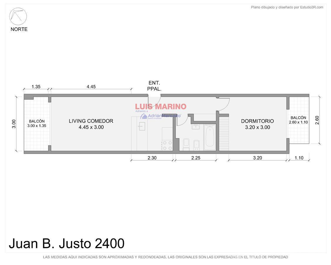Foto Departamento en Venta en  Villa Crespo ,  Capital Federal  Av. Juan B Justo al 2400