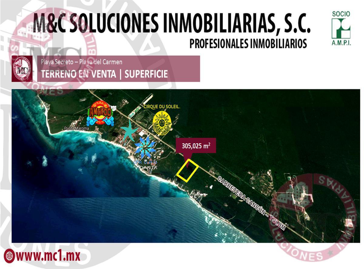 Foto Terreno en Venta en  Playa del Carmen,  Solidaridad  Venta Terreno Ribiera Maya, Puerto Morelos, Zona alta plusvalía