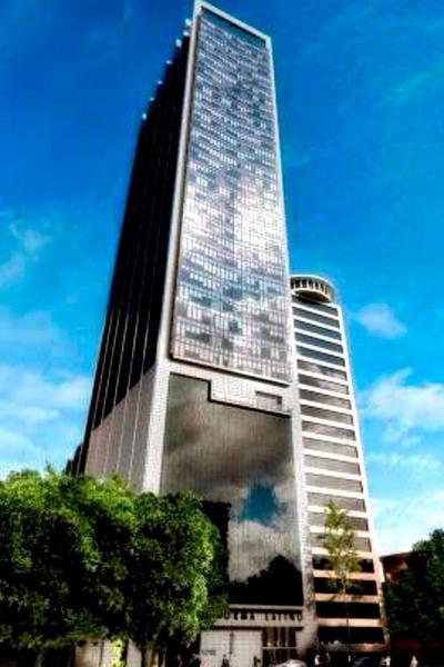 Foto Oficina en Renta en  Juárez,  Cuauhtémoc  En Reforma, Edificio NUEVO. CERCA BMV 204m2. 6 garages. Helipuerto