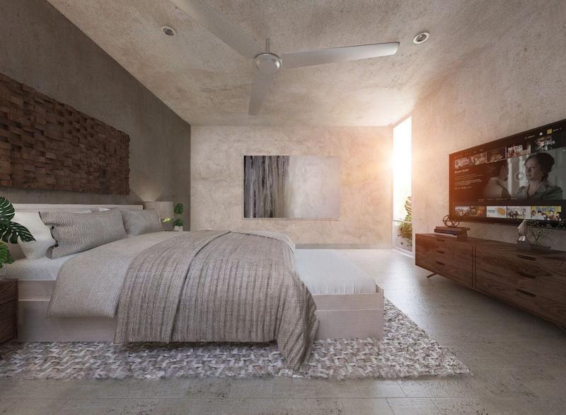 Foto Casa en condominio en Venta en  Pueblo Temozon Norte,  Mérida  Se Vende la Casa Jícara en Privada Temozon 39