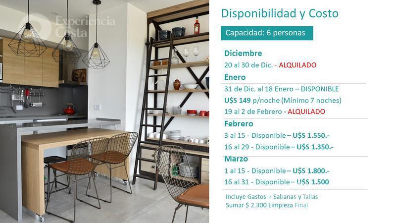 Foto Departamento en Alquiler | Alquiler temporario en  Barrio Costa Esmeralda,  Pinamar  Aguila 4º C - Al Golf 19