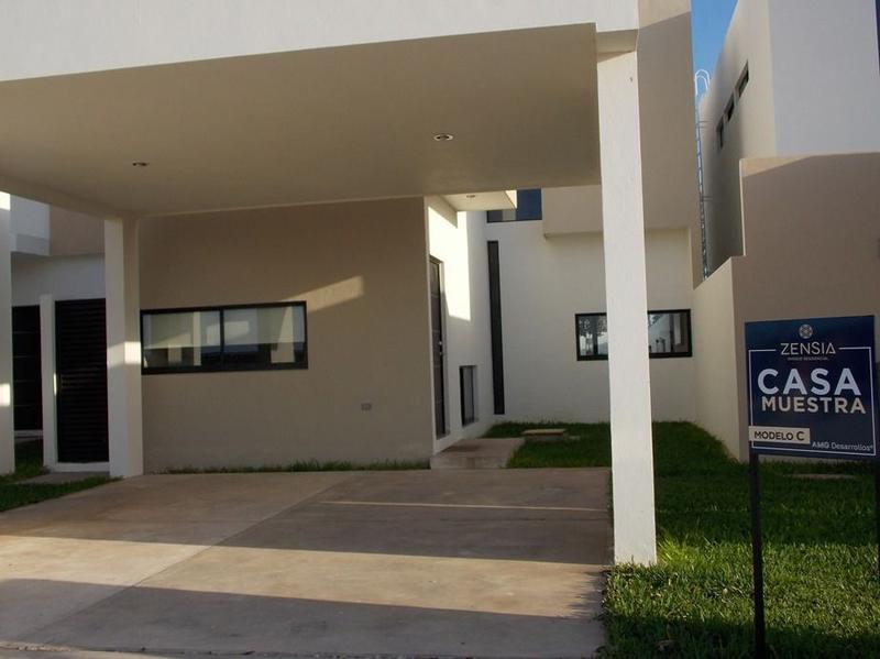 Foto Casa en condominio en Venta en  Conkal ,  Yucatán  Casa en Venta Privada Zensia (Mod.C)  Conkal, Mérida Yucatán