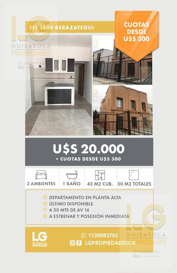 Foto Departamento en Alquiler en  Berazategui,  Berazategui  111 1400