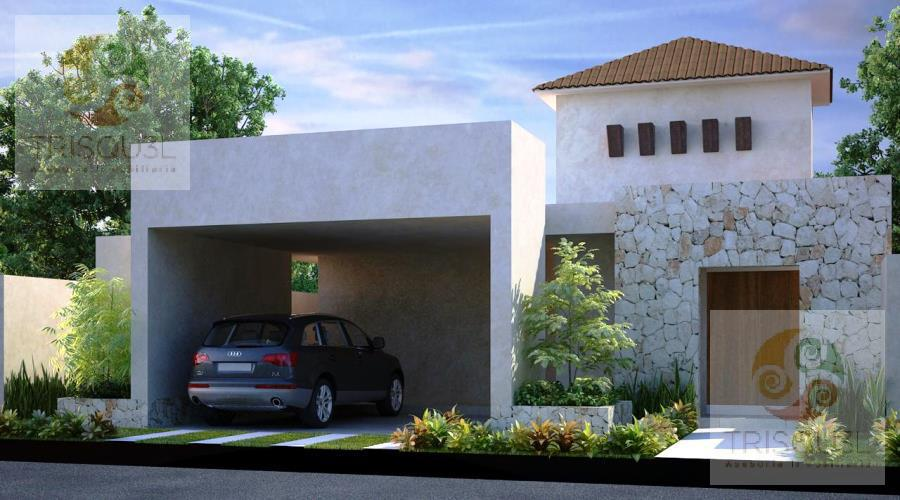 Foto Casa en condominio en Venta en  Pueblo Conkal,  Conkal  Casa en venta Una Planta Privada Jardines Santa Cruz Conkal, Mérida Yucatán
