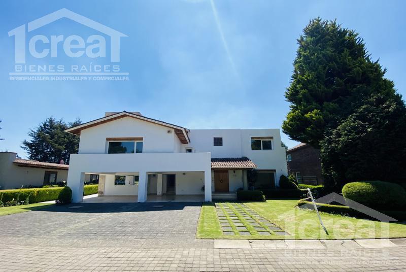 Foto Casa en Renta en  Club de Golf los Encinos,  Lerma  Club de golf los Encinos, Lerma, casa en renta con 4 recamaras
