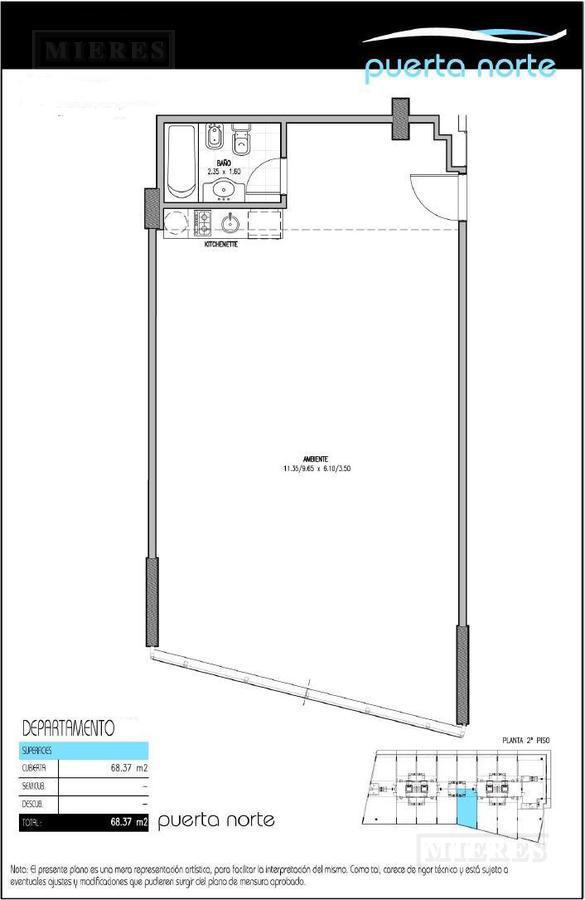 Departamento - Puerta Norte