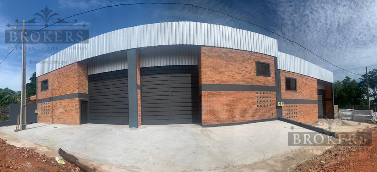 Foto Depósito en Alquiler en  Mariano Roque Alonso ,  Central  Vendo/Alquilo Deposito de 440 M2 En Mariano Roque Alonso