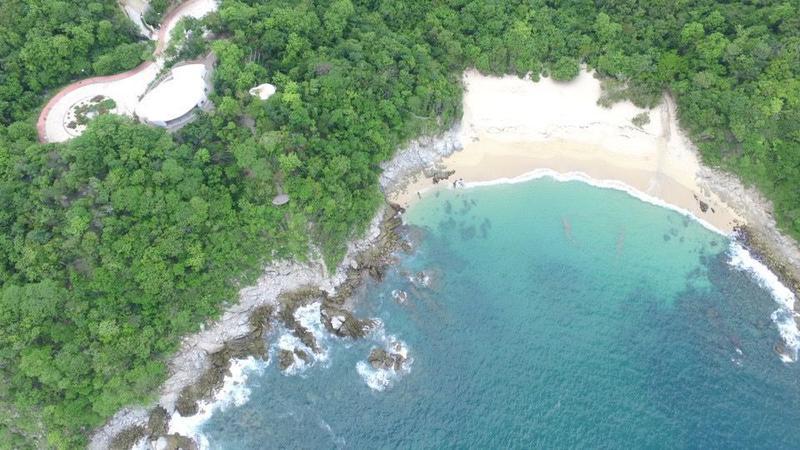Foto Campo en Venta en  Residencial Chahue,  Santa María Huatulco  Terreno en el mirador Chahue con acceso a playa