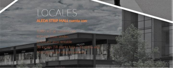 Foto Local en Renta en  Parque industrial Parque Industrial El Marqués,  El Marqués  SKG Renta Locales en Renta, Queretaro Plaza Aleda, desde 72.50 m2 hasta 130.19 m2, PB