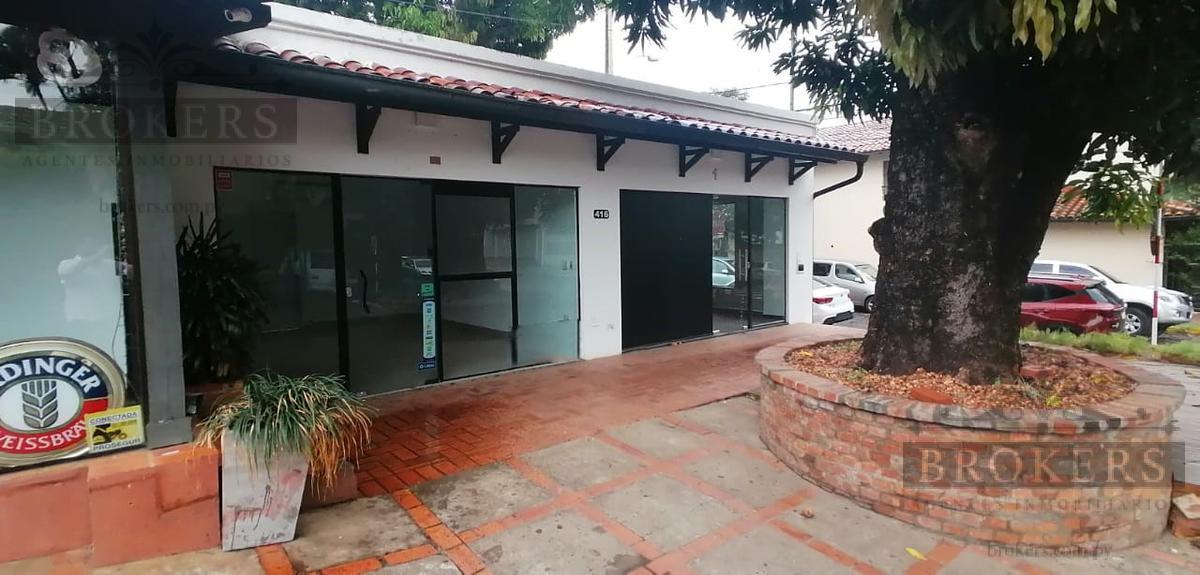 Foto Local en Alquiler en  Villa Morra,  La Recoleta  Alquilo 2 salones comerciales en esquina zona Shopping Villa Morra