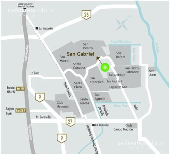 Foto Terreno en Venta en  San Gabriel,  Villanueva  Bº San Gabriel  Lote al 300