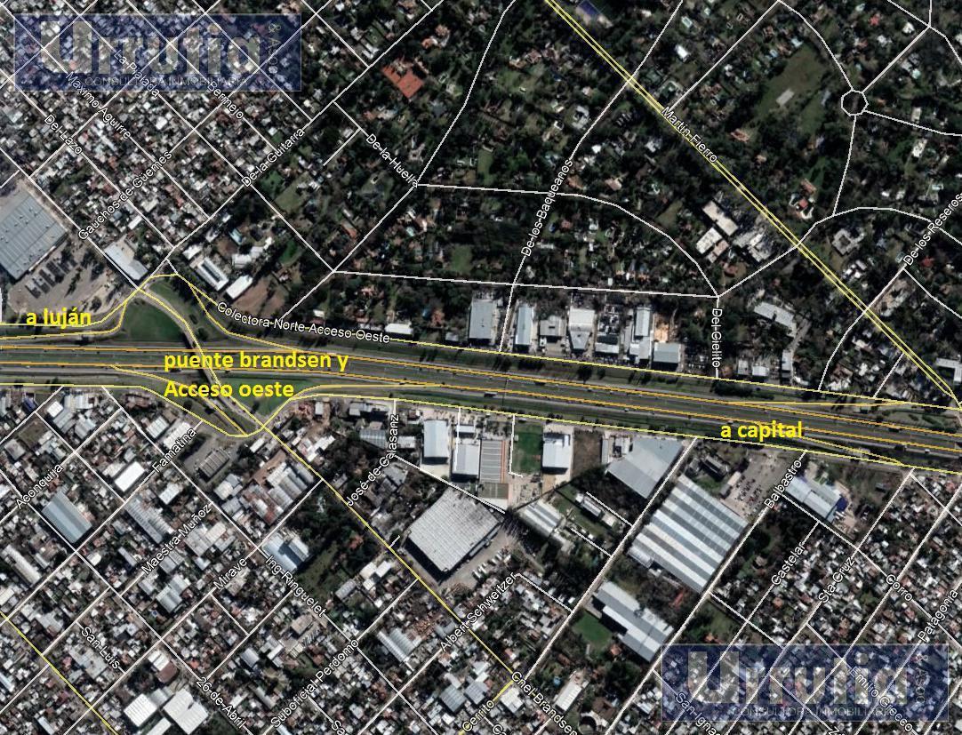 Foto Terreno en Venta en  Ituzaingó,  Ituzaingó  brandsen y autopista del oeste