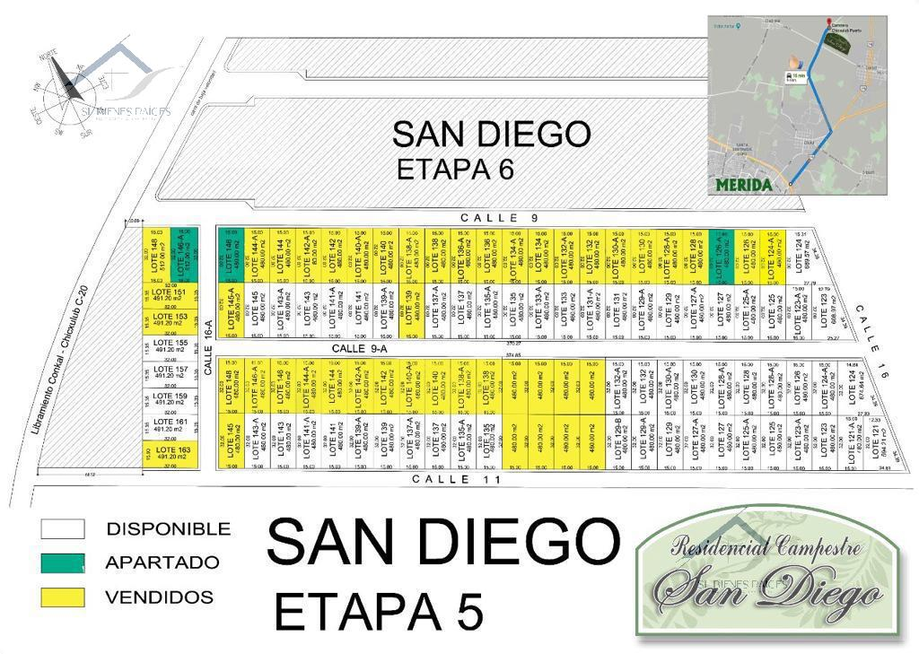 Foto Terreno en Venta |  en  San Diego Cutz,  Conkal  Lotes Residenciales  en venta, San Diego Conkal Yucatan