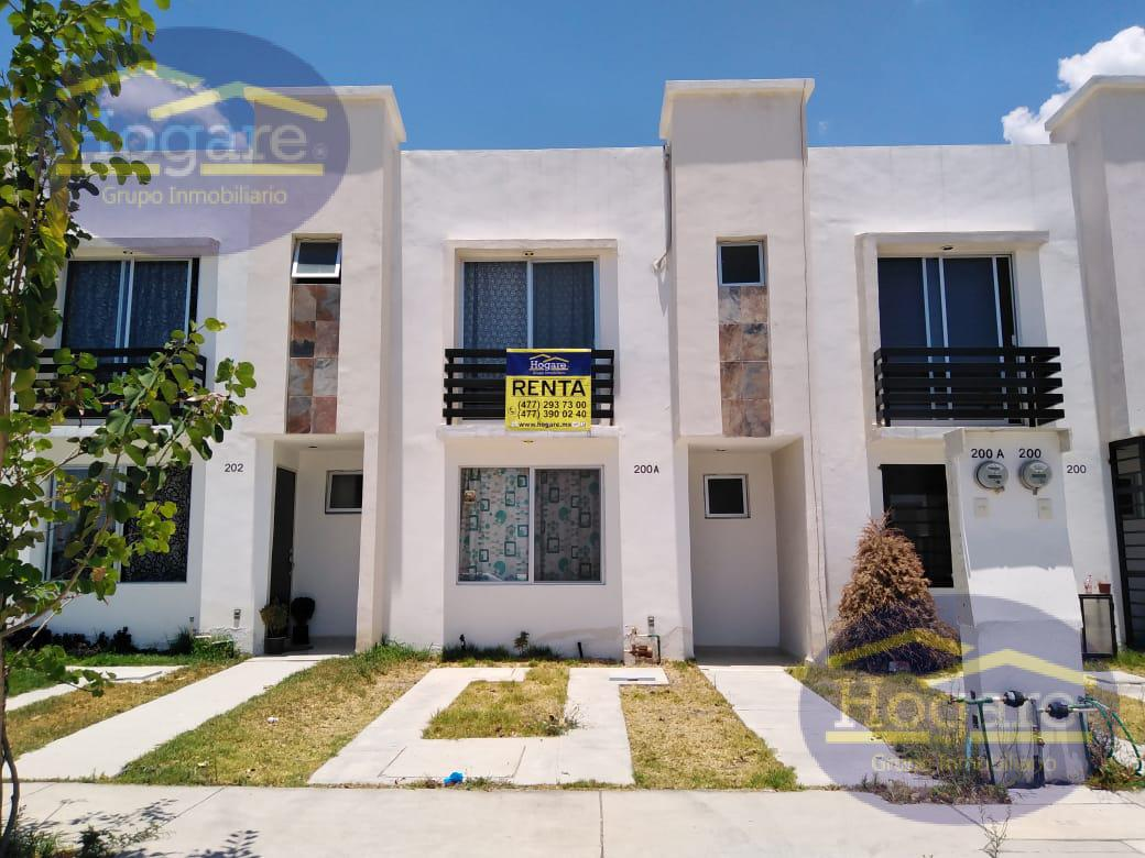 Casa en Renta dentro de privada en Arancia Residencial , Zona muy tranquila en León, Guanajuato