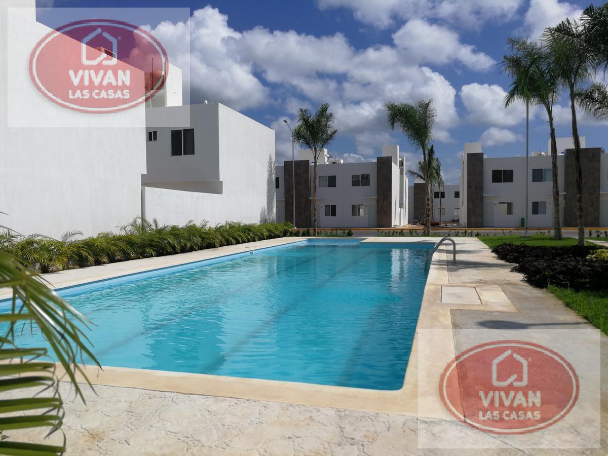 Foto Casa en Renta en  Playa del Carmen ,  Quintana Roo          Casa en Renta de 3 Rec en Paseo de los Olivos
