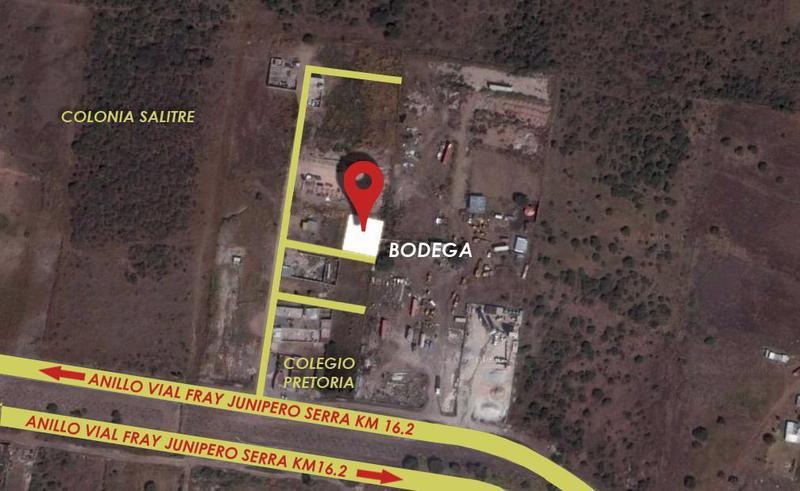 Foto Bodega Industrial en Venta   Renta en  El Salitre,  Querétaro  Bodega en renta y venta Fray junipero Serra