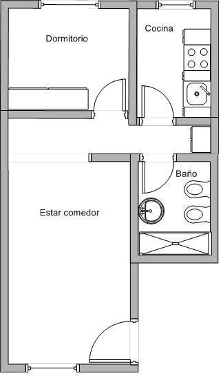 Foto Departamento en Alquiler en  Nueva Cordoba,  Capital  Pje. Carlucci 63 2º B