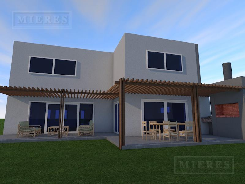 Excelente casa Estilo Moderno ubicada en el barrio cerrado San Rafael!