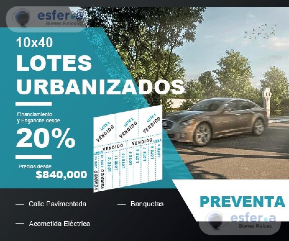 Foto Terreno en Venta en  Pueblo Dzitya,  Mérida  Terrenos en venta en Merida Dzityá Oasis   Lotes Urbanizados