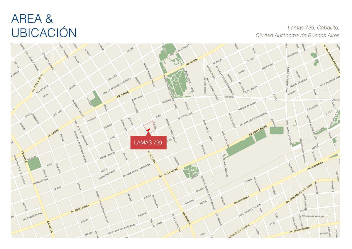 Foto Departamento en Venta en  Caballito ,  Capital Federal  Andres Lamas 700 - U702