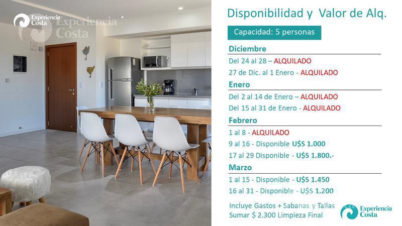 Foto Departamento en Alquiler temporario | Alquiler en  Barrio Costa Esmeralda,  Pinamar  Albatros 1º F - Al Golf 19