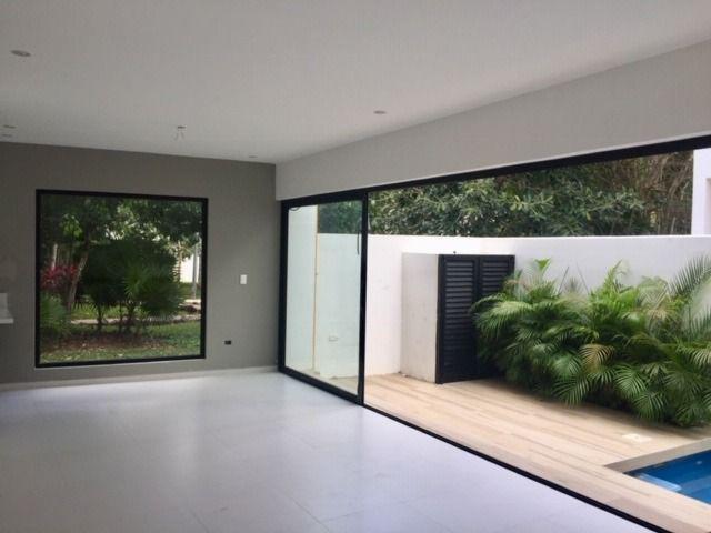 Foto Casa en condominio en Venta en  Aqua,  Cancún  Casa en Venta Residencial Aqua Fase I de 3 recámaras con alberca. Supermanzana 309. Cancún, Quintana Roo Mèxico