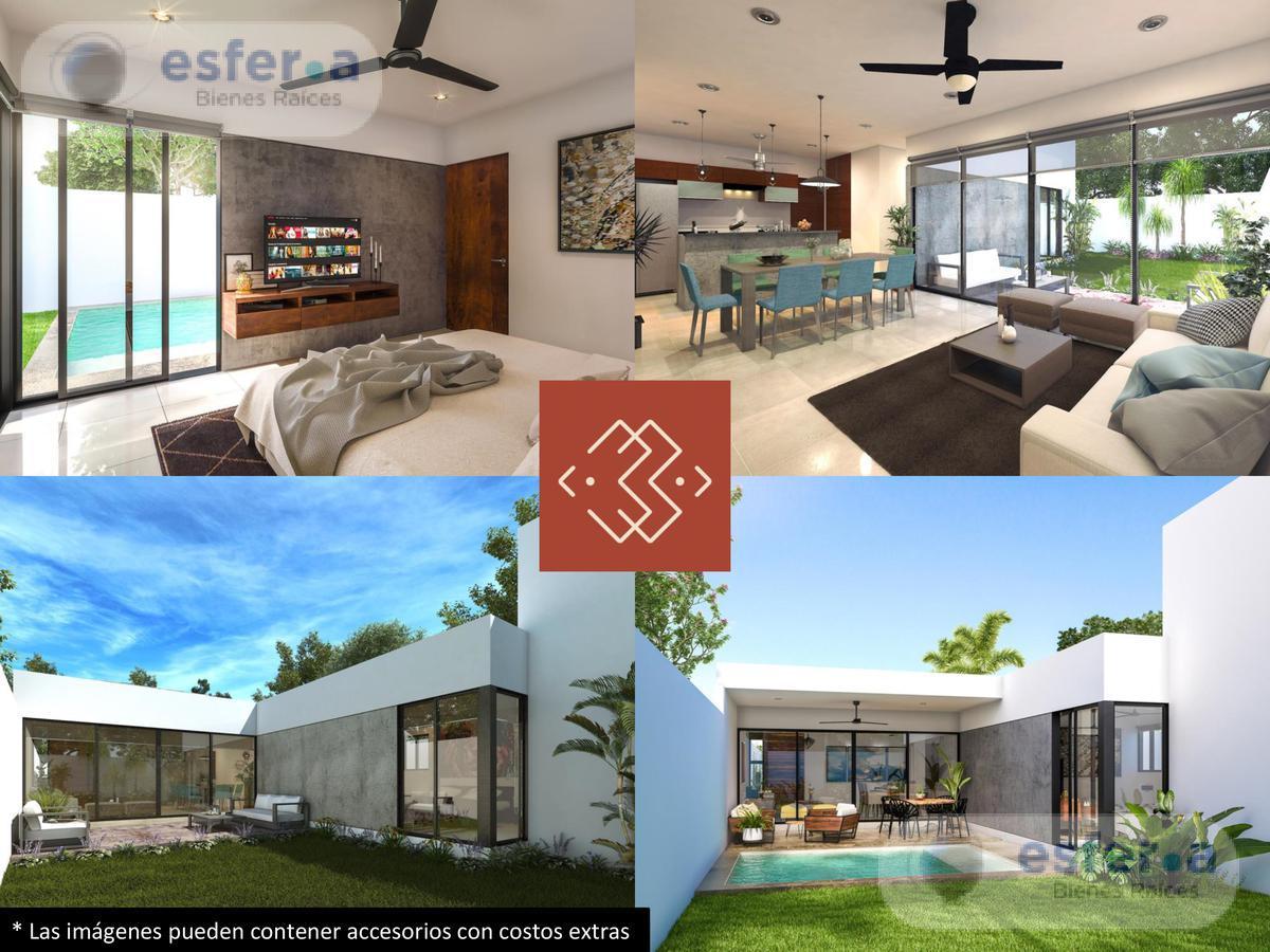 Foto Casa en Venta en  Conkal ,  Yucatán  Casa en venta modelo Kiina de 1 piso, Manere33 Residencial Conkal