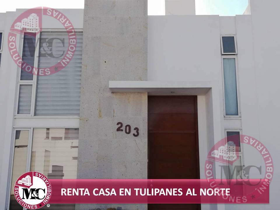Foto Casa en Renta en  Fraccionamiento Tulipanes Residencial,  Jesús María  M&C RENTA CASA EN TULIPANES AL NORTE
