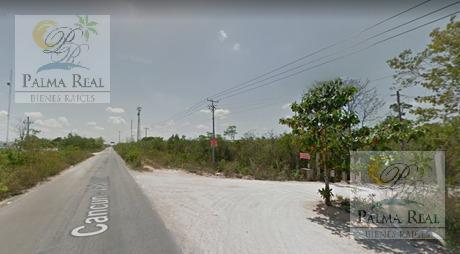 Foto Terreno en Venta en  Cancún ,  Quintana Roo  ¡¡¡ NO PIERDAS LA OPORTUNIDAD DE INVERTIR EN ESTE TERRENO!!!