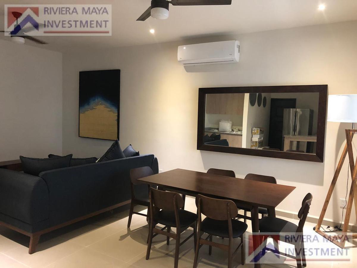 Foto Casa en Renta en  Solidaridad ,  Quintana Roo  Casa amueblada en renta, Selva Nova.