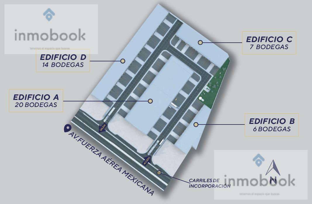Foto Bodega Industrial en Venta en  Los Girasoles,  Chihuahua  Bodegas en Pre - Venta en Centro Logístigo Integramx Calle Fuerza Aerea