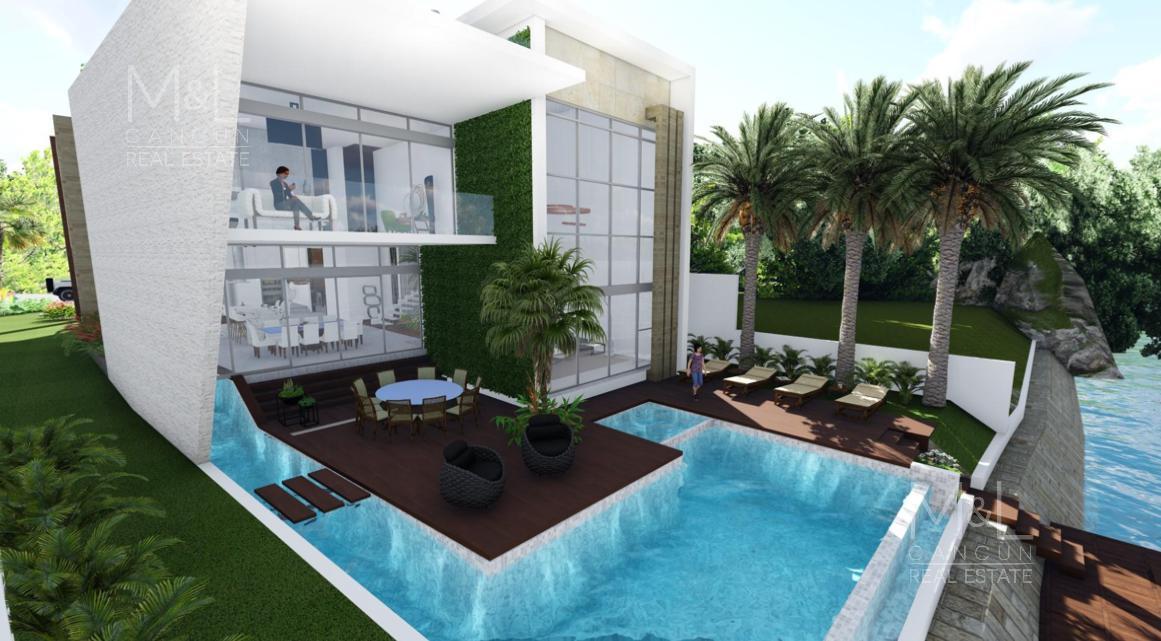 Foto Casa en Venta en  Puerto Cancún,  Cancún  CASA EN VENTA EN CANCUN, LOS CANALES DE 4 RECAMARAS CON MUELLE, PUERTO CANCUN