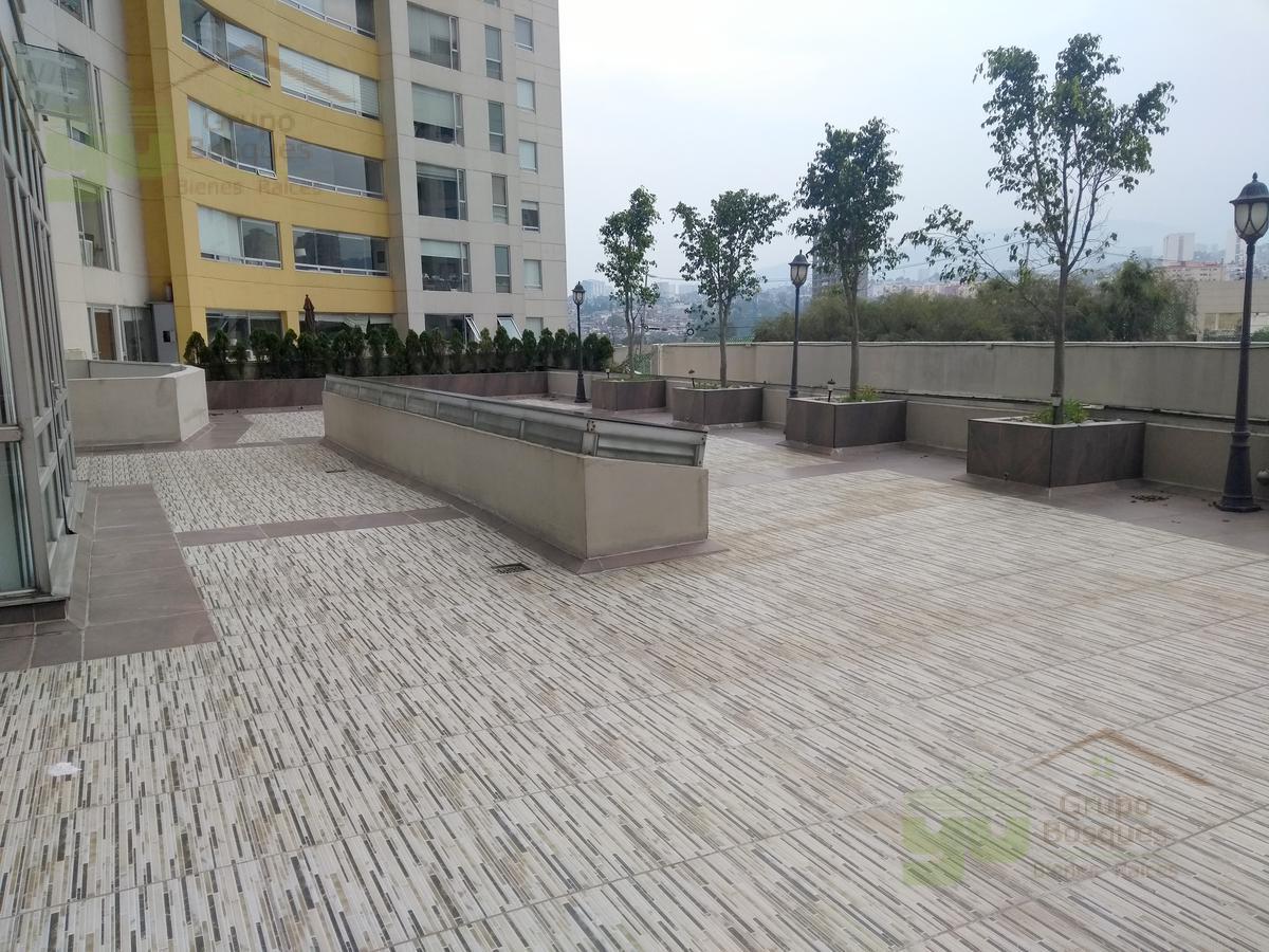 Foto Departamento en Venta en  Jesús del Monte,  Huixquilucan  Departamento en venta en Residencial Aquario con 4 recamaras y terraza, Interlomas.