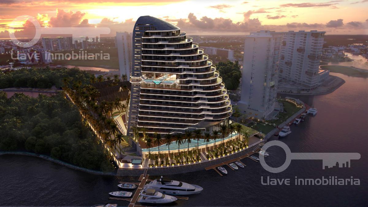 Foto Departamento en Venta en  Zona Hotelera,  Cancún  Pre-venta Departamento Shark Tower Cancun