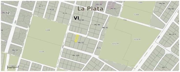 Foto Terreno en Venta en  Joaquin Gorina,  La Plata  135 e/ 490 y 491 - Gorina