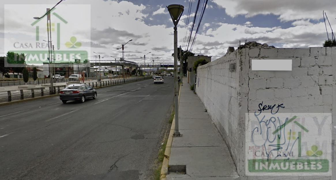 Foto Terreno en Venta en  Periodista,  Pachuca  Terreno sobre Rio de las Avenidas