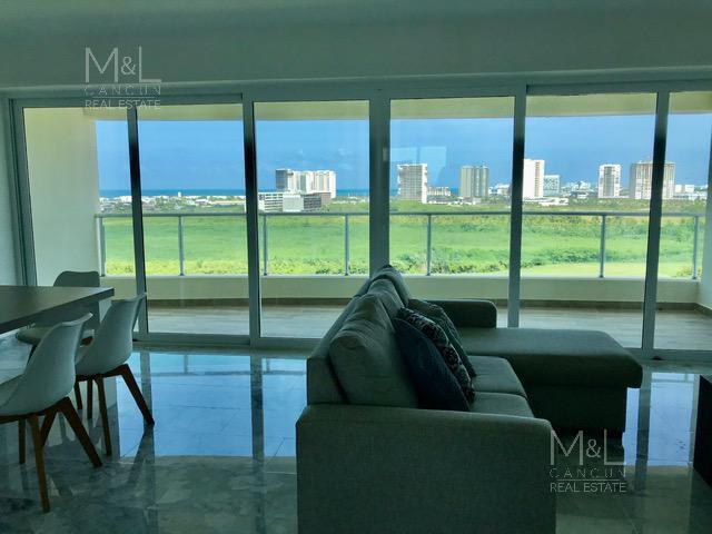 Foto Departamento en Renta en  Supermanzana 3 Centro,  Cancún  Departamento en Renta, Axent, de 2 recámaras, en  Puerto Cancún