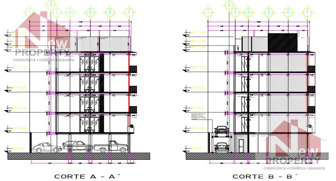 Foto Edificio Comercial en Venta en  Daniel Garza,  Miguel Hidalgo  se vende edificio HM/8 en obra gris