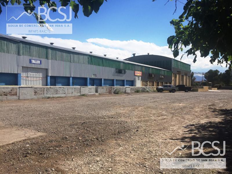 Foto Nave Industrial en Venta en  Chimbas ,  San Juan  Ruta Nacional Nº 40 y Calle Rodriguez