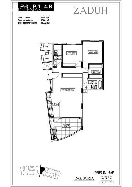 Departamento en Venta en Zaduh a Venta - u$s 259.000