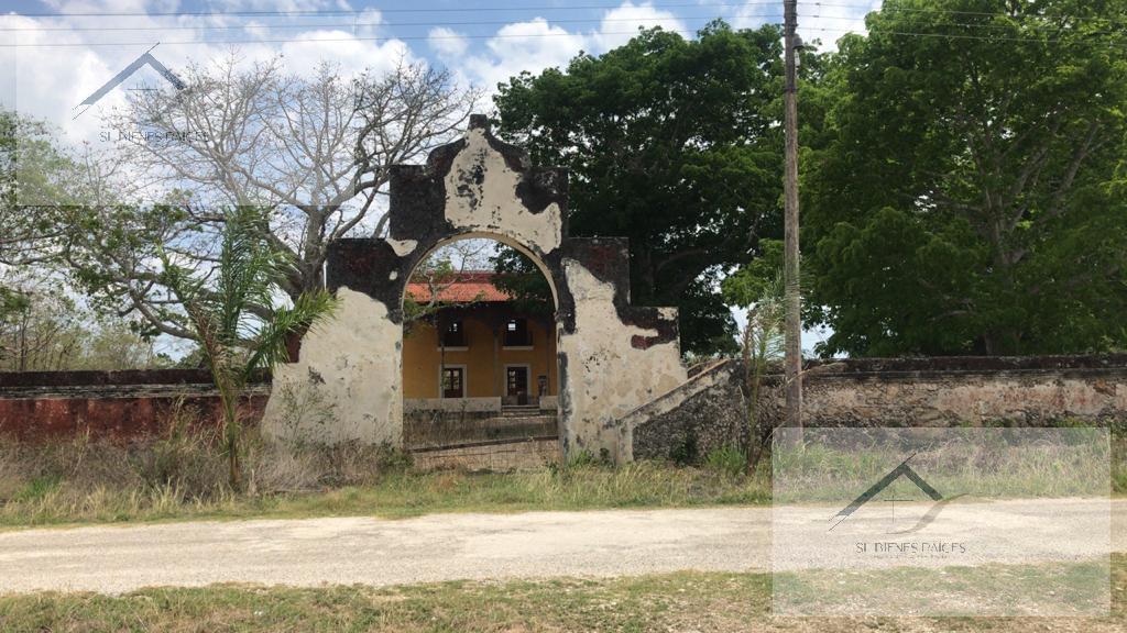 Foto Finca en Venta en  Suma ,  Yucatán  Casco de Hacienda 9 ha a 35 minutos de la Ciudad de Merida
