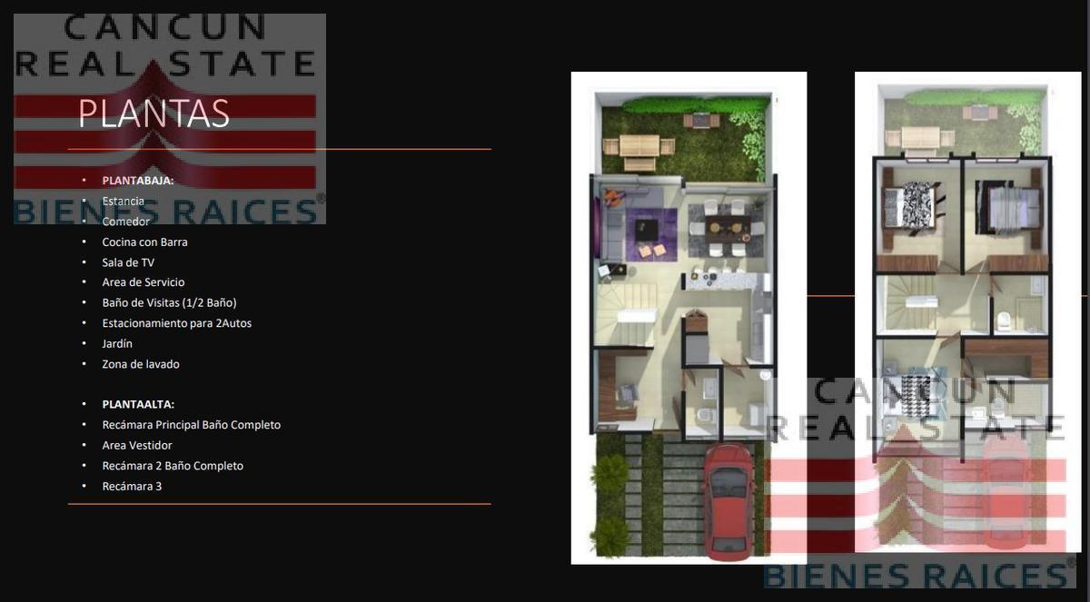 Foto Casa en Venta en  Supermanzana 330,  Cancún  Huayacan Sm al 300