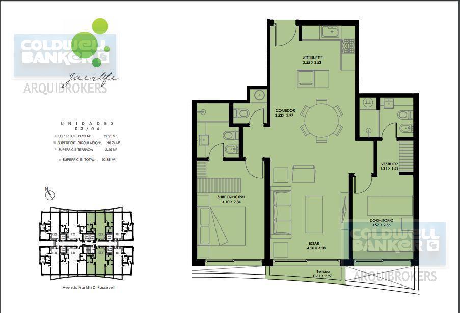 Foto Apartamento en Venta en  Punta del Este ,  Maldonado  Apartamento de 2 dormitorios en venta en La Mansa